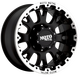 Диски Moto Metal MO956 black/machined | RU-SHINA.ru