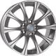 Диски BMW B35 silver   RU-SHINA.ru