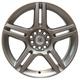 Диски W538 Granada для Audi silver | RU-SHINA.ru