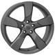 Диски Audi W568 Vittoria |   ЦВЕТ: matt gun metal   | RU-SHINA.ru