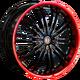 Диски HARP Y-01 BKF Red Lip | RU-SHINA.ru