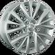Диски Toyota TY222 silver | RU-SHINA.ru