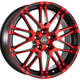Диски Oxigin 14 Oxrock red polish matt | RU-SHINA.ru