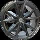 Диски Audi W569 Aiace |   ЦВЕТ: matt gun metal   | RU-SHINA.ru
