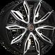 Диски Toyota TY516 Concept BKF | RU-SHINA.ru