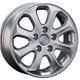Диски Hyundai HND23 silver | RU-SHINA.ru
