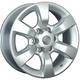 Диски Chevrolet GM61 silver | RU-SHINA.ru