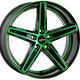 Диски Oxigin 18 Concave green polish | RU-SHINA.ru