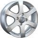 Диски Chevrolet GM33 silver | RU-SHINA.ru